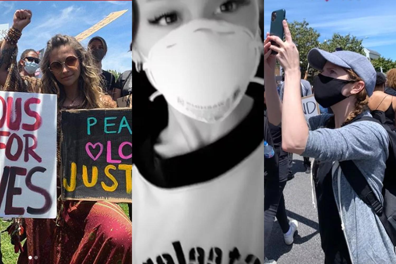 Artistas participam de protestos antirracistas nos EUA; veja fotos