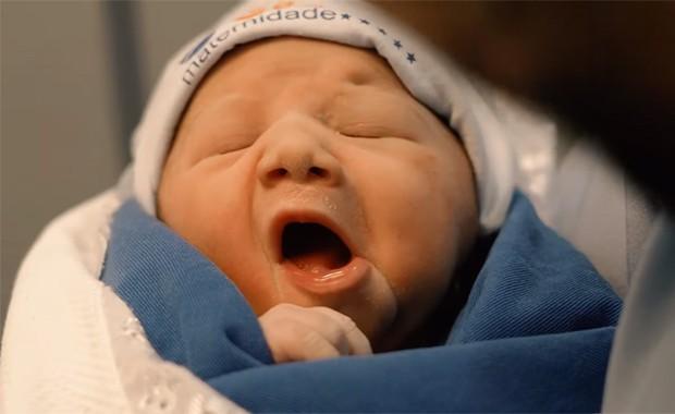 Virginia deu à luz Maria Alice neste domingo (30) (Foto: Reprodução / Instagram)