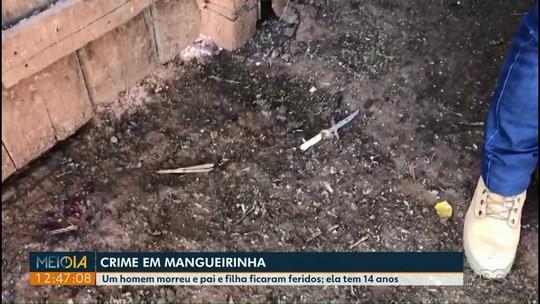 Pai e filha ficam feridos e assaltante morre em tentativa de roubo em Mangueirinha