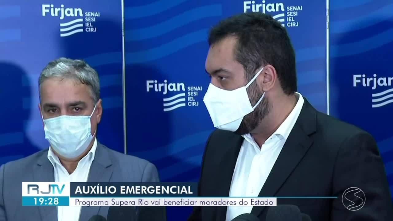 Governo lança programa de auxílio emergencial