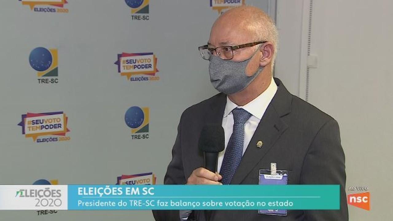 Presidente do TRE-SC fala sobre demora na apuração em Joinville e Blumenau