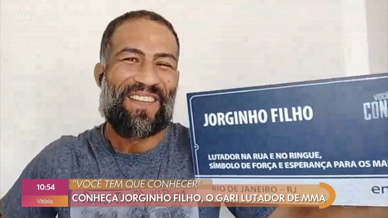 Você tem que conhecer: conheça Jorginho Filho, o gari lutador de MMA