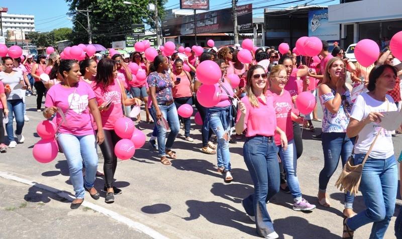 Caminhada pela campanha 'Outubro Rosa' será nesta sexta em Rio Bonito, no RJ - Notícias - Plantão Diário