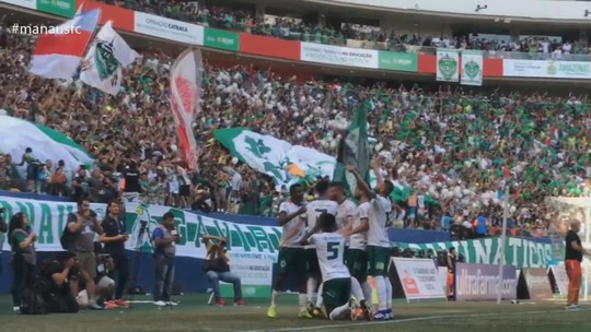 Manaus agradece em vídeo o apoio do torcedor na campanha do acesso à Série C; veja