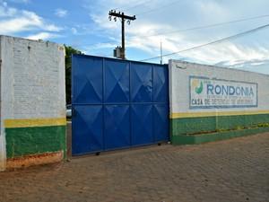 Casa de Detenção de Ariquemes (Foto: Eliete Marques/G1)