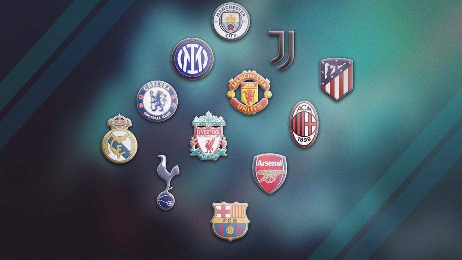 Doze grandes clubes da Europa anunciam a criação da Superliga em comunicado  | futebol internacional | ge