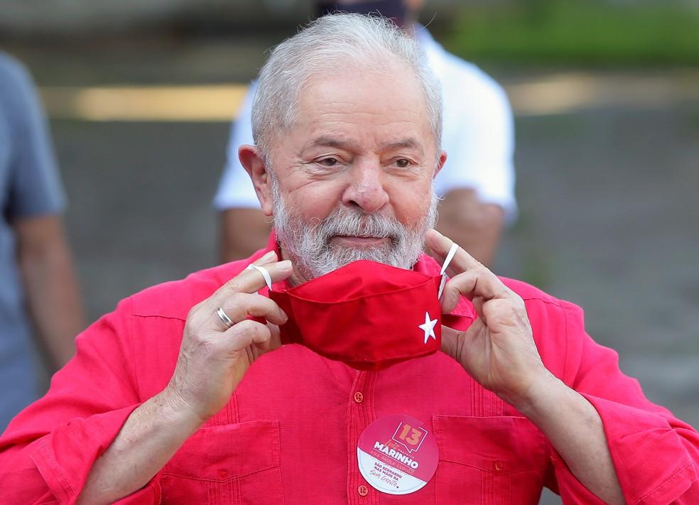 O ex-presidente Luiz Inácio Lula da Silva em imagem de novembro do ano passado — Foto: Amanda Perobelli/Reuters