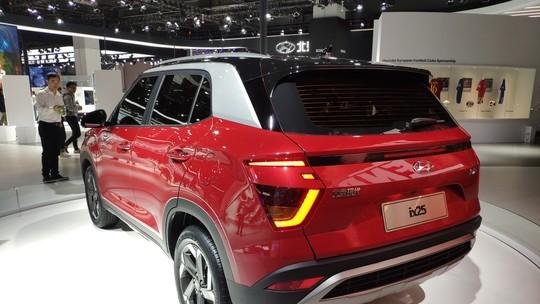 Hyundai Creta ganha reestilização polêmica para o Salão de Xangai