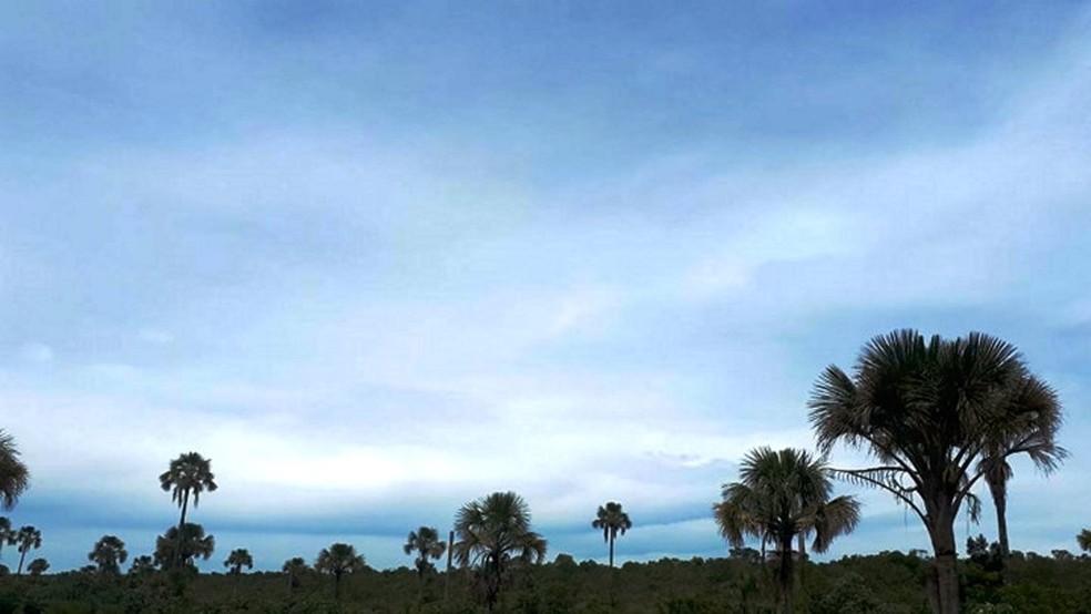 -  Céu claro a parcialmente nublado continua no fim de semana  Foto: Caroline Aleixo/G1