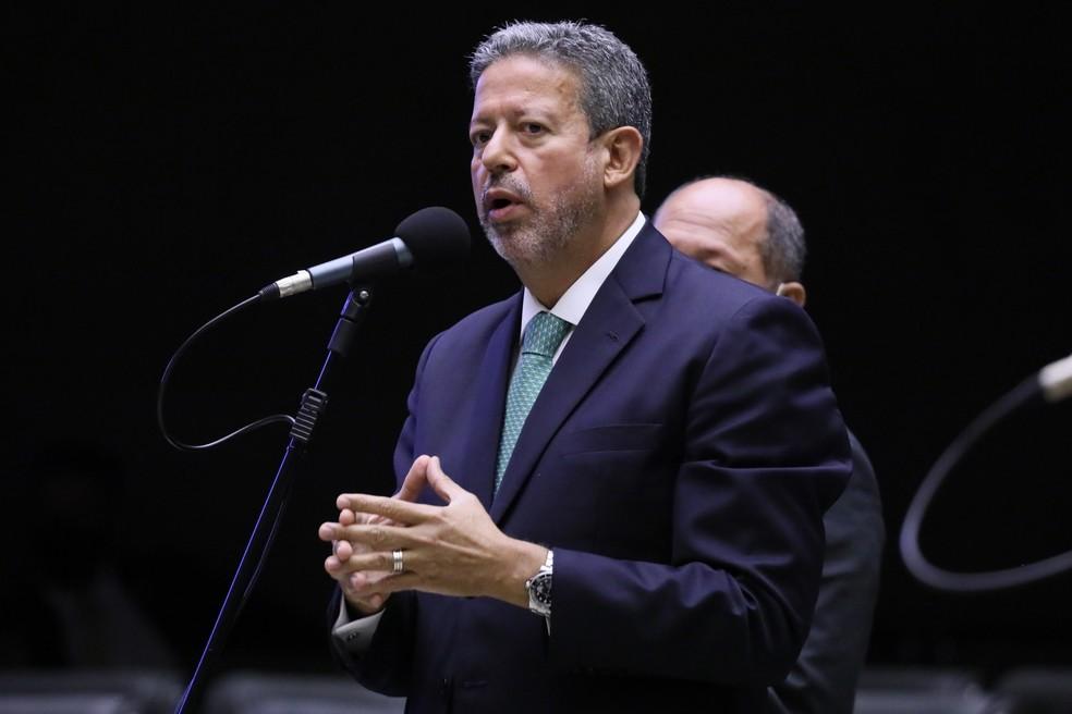 O deputado Arthur Lira (PP-AL) no plenário da Câmara — Foto: Maryanna Oliveira / Câmara dos Deputados