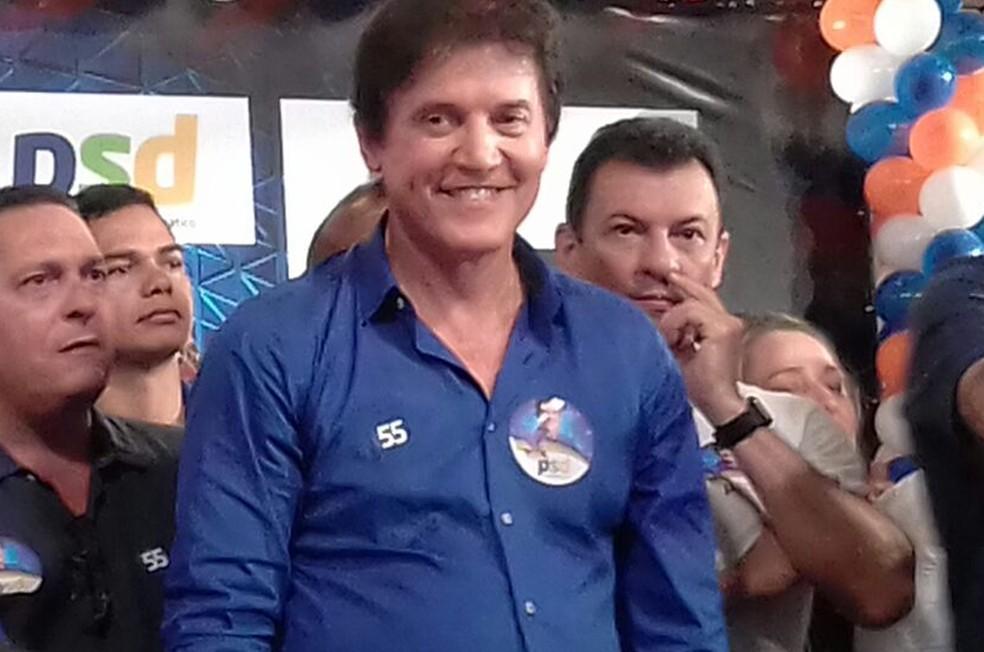 Robinson Faria foi escolhido pelo PSD para, novamente, disputar o governo do RN (Foto: Julianne Barreto/Inter TV Cabugi)