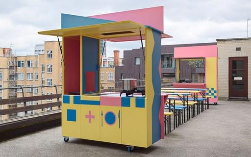 Arquitetos britânicos criam cozinha pop-up para ajudar refugiados