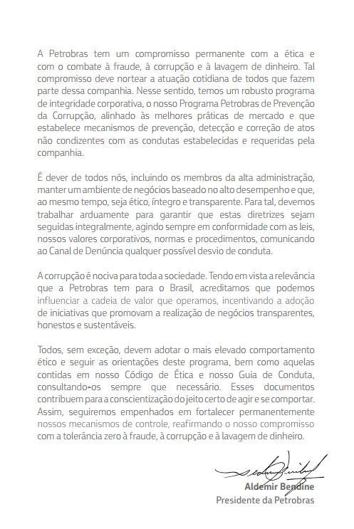 Programa de Combate à Corrupção da Petrobras