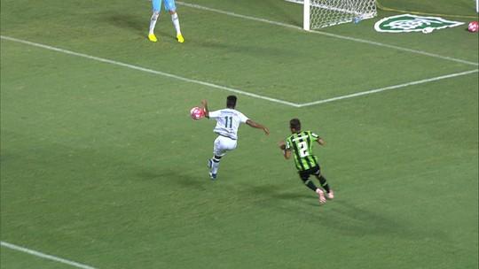 Matheusinho dá a volta por cima com gol e pede erro zero do América-MG por título estadual