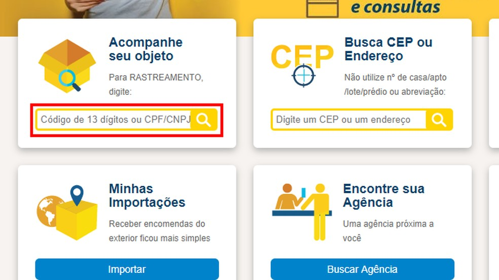 Como rastrear um objeto pelo CPF/CNPJ | sedexrastreamento.com