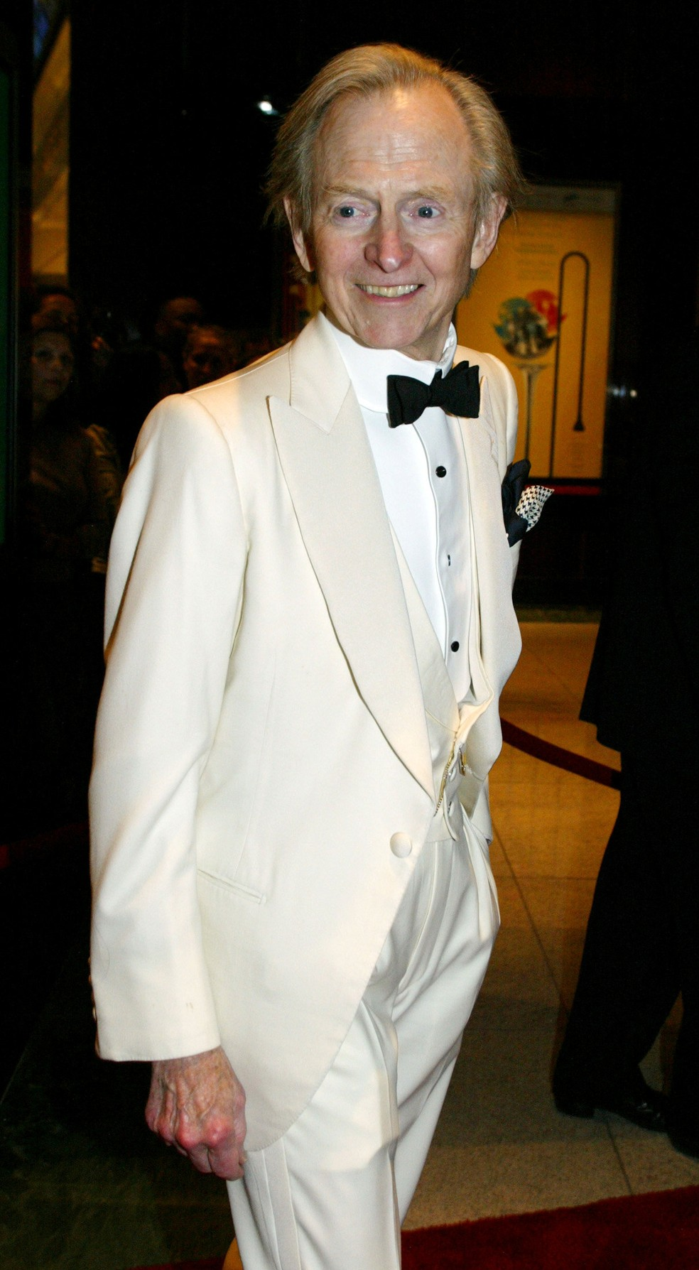 Tom Wolfe em 2005 (Foto: Reuters/Jeff Christensen/Arquivo)