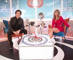 Rafael Portugal e Rafa Kalimann no 'Casa Kalimann' | João Miguel Júnior/Globo