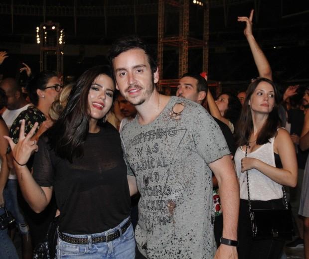 Antonia Morais e Wagner Santisteban (Foto: AgNews/Wallace Barbosa)
