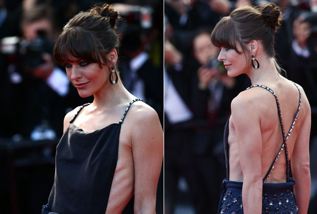 MILLA EXIBE MAGREZA EXCESSIVA NO FESTIVAL DE CANNES (Foto: Getty Images)