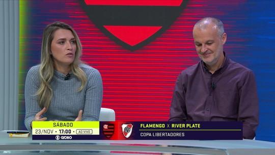 Ana Thaís Matos enaltece volta por cima de Rodrigo Caio: ''Se encontrou no Flamengo''