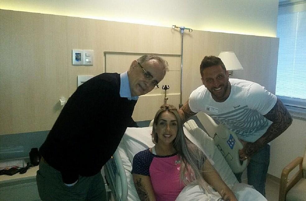 Thaisa cirurgia vôlei seleção brasileira (Foto: Reprodução)