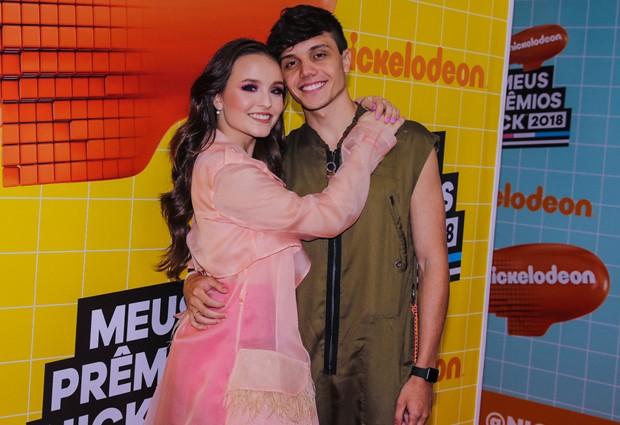 Larissa Manoela e Léo Cidade (Foto: Thiago Duran/AgNews)