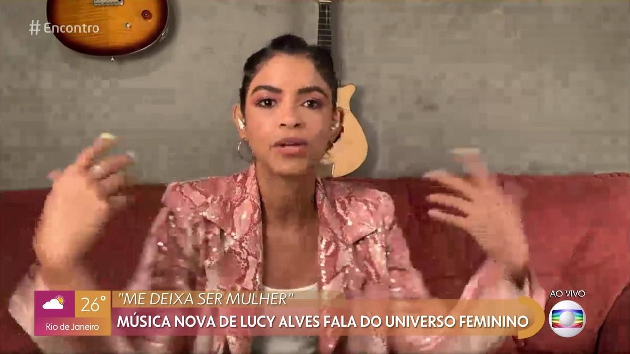 Música nova de Lucy Alves fala do universo feminino