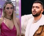Numa festa do 'BBB' no início de março, Sarah falou para Pocah sobre o envolvimento com o DJ Pedro Sampaio | Reprodução