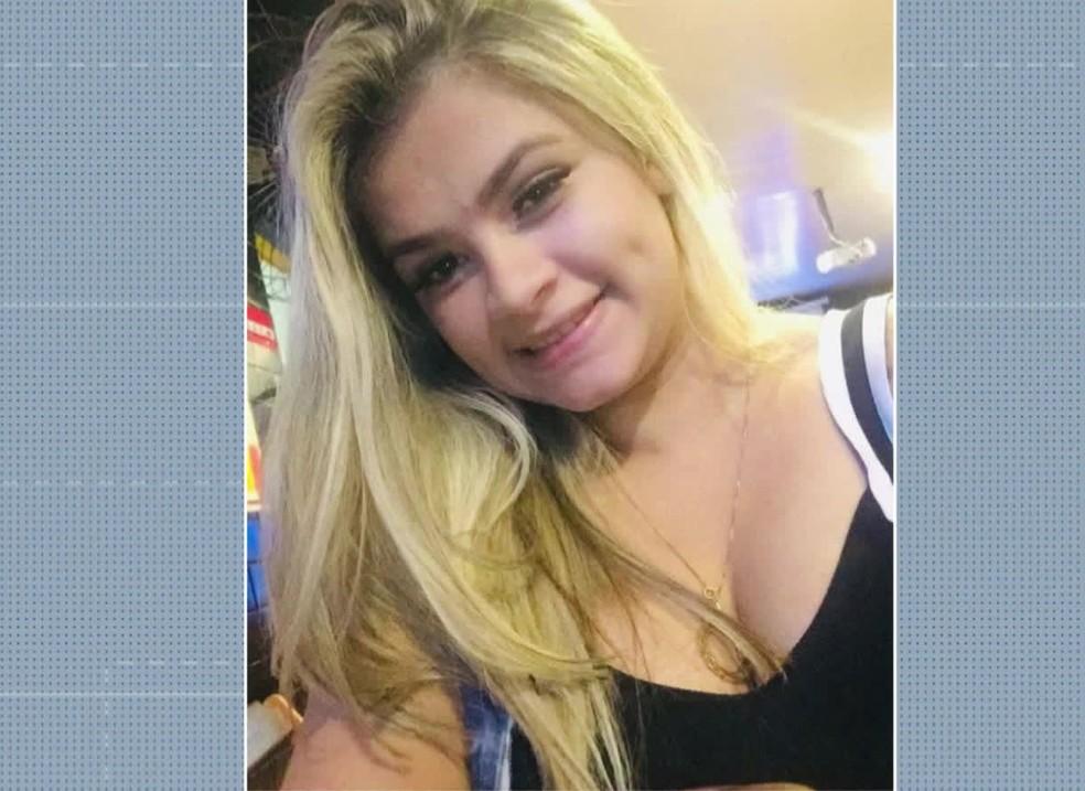 Vítima do feminicídio, Leandra Gennifer da Silva tinha 22 anos de idade — Foto: Reprodução/TV Globo
