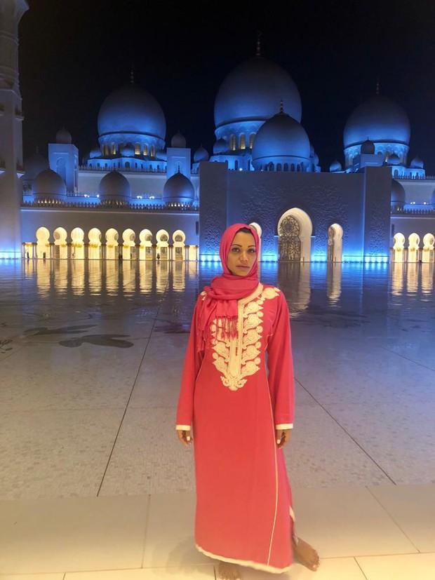 Ana Paula Evangelista em Dubai (Foto: Divulgação/R2)