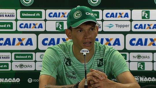 Sequência de jogos em casa aumenta confiança de Júnior Viçosa no Goiás
