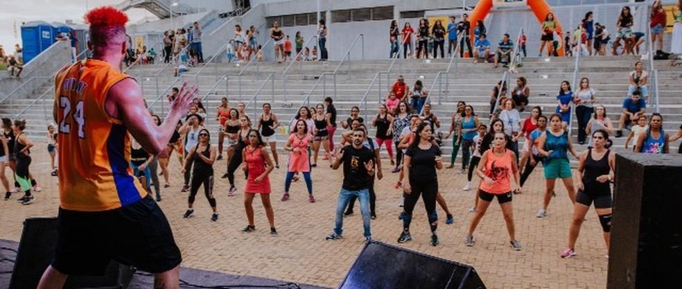 Domingo na Arena tem programação para todos os públicos (Foto: Divulgação)
