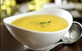 Sopa de abóbora fica pronta em 15 minutos