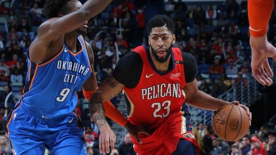 Melhores momentos: Oklahoma City Thunder 114 x 118 New Orleans Pelicans pela NBA