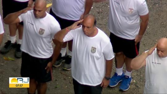 Ex-governador Moreira Franco não participa de cerimônia do Batalhão Prisional da PM