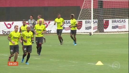 Flamengo treina com foco no Mundial de Clubes