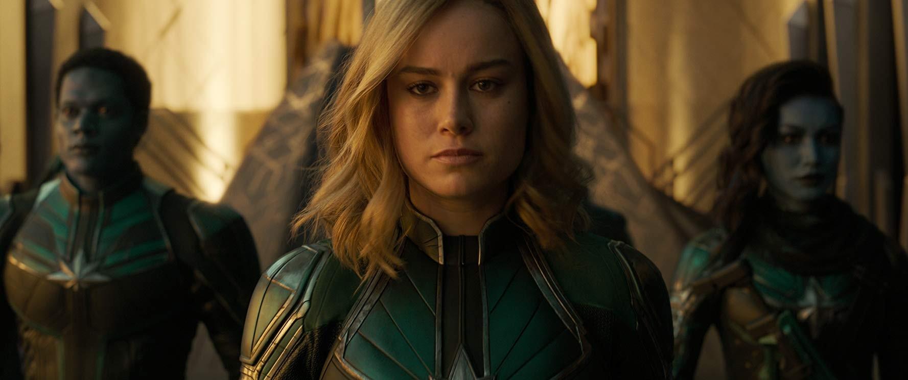 'Capitã Marvel' lidera bilheteria nacional pela segunda semana  - Noticias