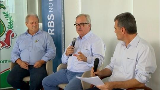 Painel RBS Notícias discute logística na produção agrícola na Expodireto