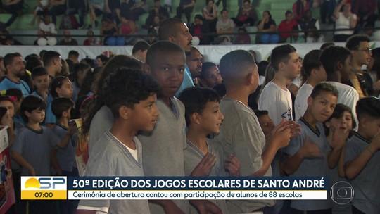 50ª edição dos jogos escolares de Santo André