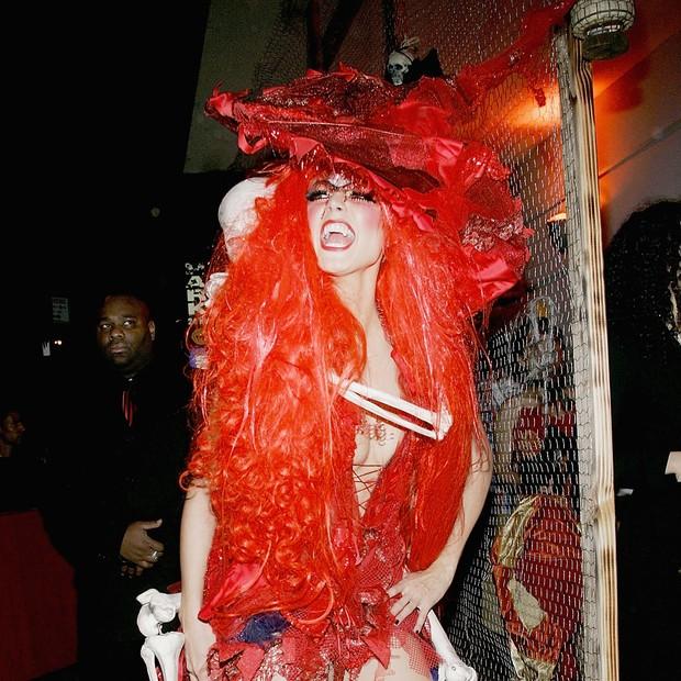 Heidi Klum de bruxa (Foto: Getty Images)