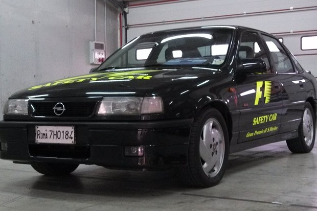 Opel Vectra 2.0 Turbo 4x4 Safety Car (Foto: Reprodução)