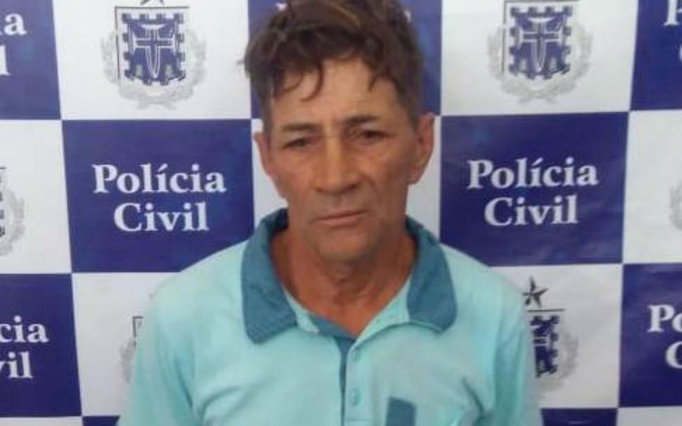 Homem é preso suspeito de estuprar duas filhas há mais de 4 anos na BA (Foto: Divulgação/Polícia Civil)