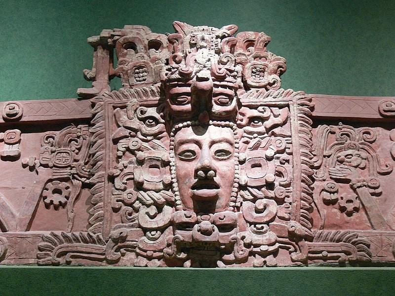 Arte produzida pelos maias (Foto: Wikimedia Commons)