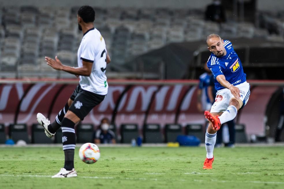 Setor de criação do Cruzeiro vai mal outra vez — Foto: Bruno Haddad/Cruzeiro