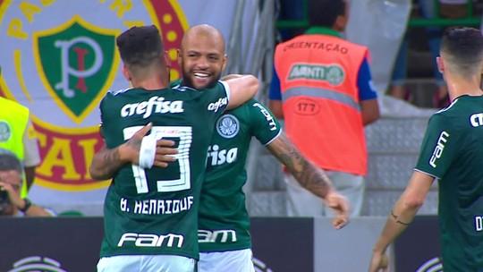 Atuações: Felipe Melo sai do banco e faz golaço em vitória do Palmeiras