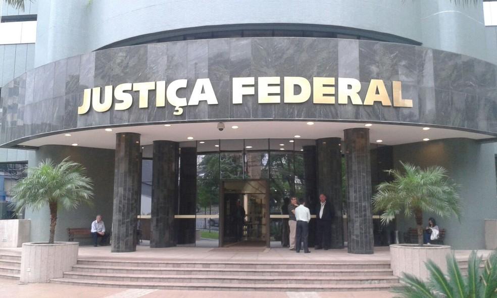13ª Vara Federal de Curitiba, responsável pelas ações da Lava Jato na primeira instância, publicou 40 sentenças em quatro anos de operação (Foto: Thais Kaniak/G1)