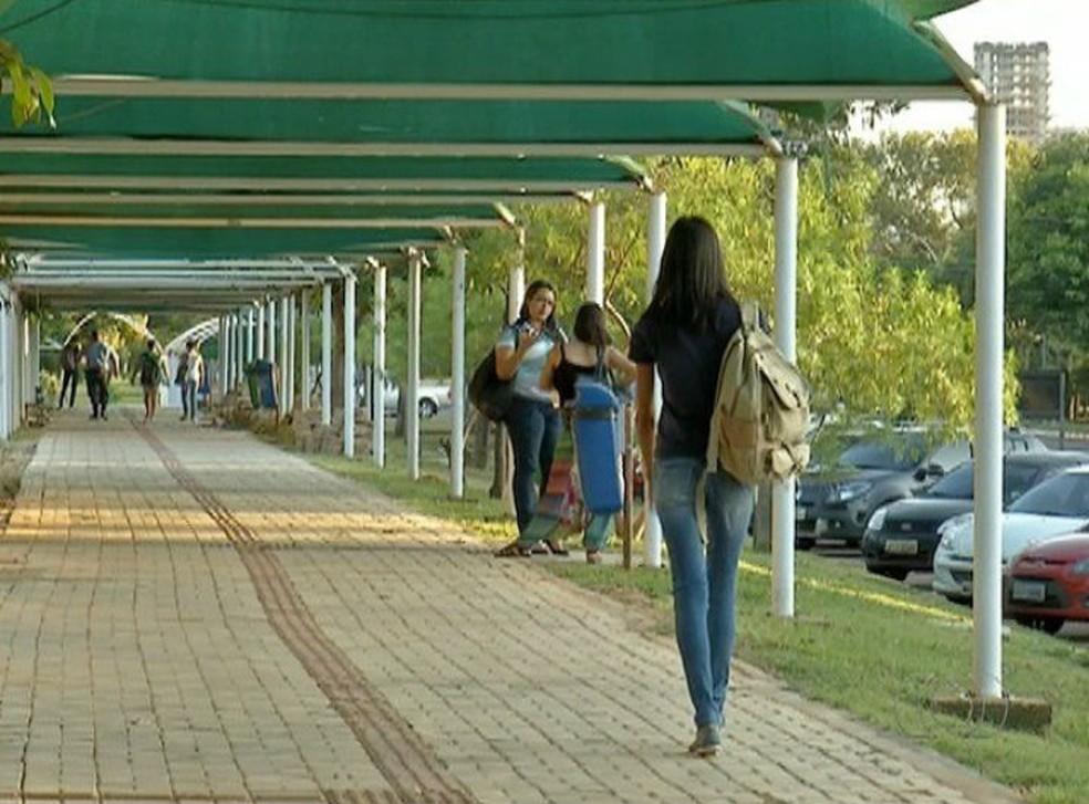 Matrícula para estudantes aprovados no Sisu começa nesta segunda-feira, na UFT (Foto: Reprodução/TV Anhanguera)