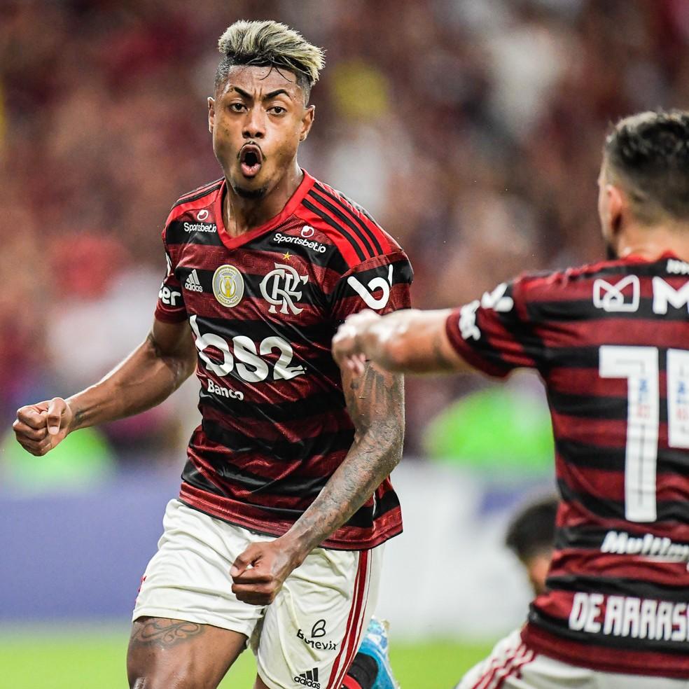 Bruno Henrique tem sido o jogador mais importante do Flamengo na reta final da temporada — Foto: Jorge R Jorge/BP Filmes