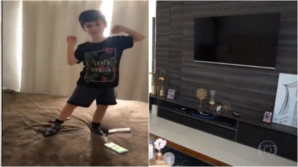 Fantástico entra no apartamento onde Henry Borel morava com a mãe e o padrasto — Foto: TV Globo/Reprodução