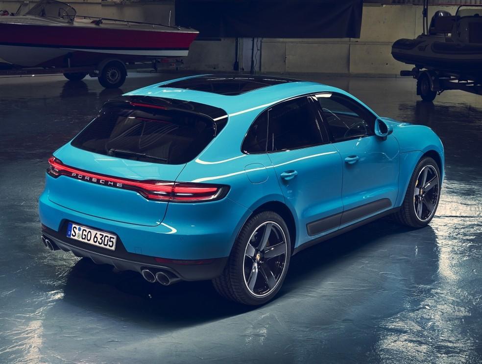 Porsche Macan — Foto: Divulgação/Porsche